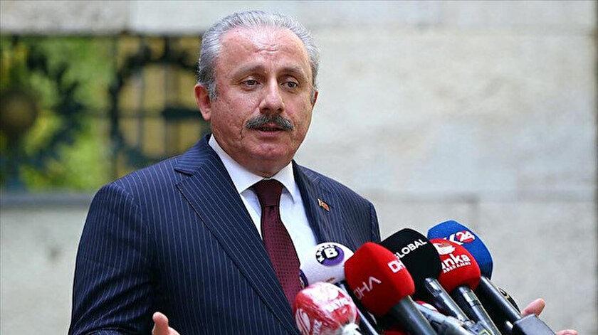 TBMM Başkanı Mustafa Şentoptan seçim kanunu açıklaması