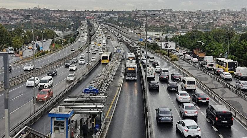 İstanbuldaki araç sayısı 22 ilin toplam nüfusu kadar
