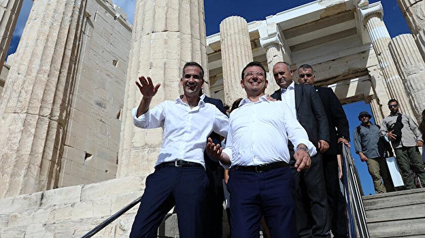 Ekrem İmamoğlunun Atina ziyaretini Yunan basını yorumladı: Atalarını ziyarete geldi!
