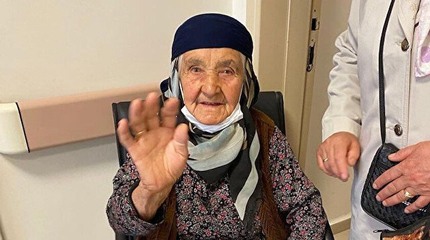 Eskişehirde 106 yaşında korona virüsü yendi - Eskişehir haberleri