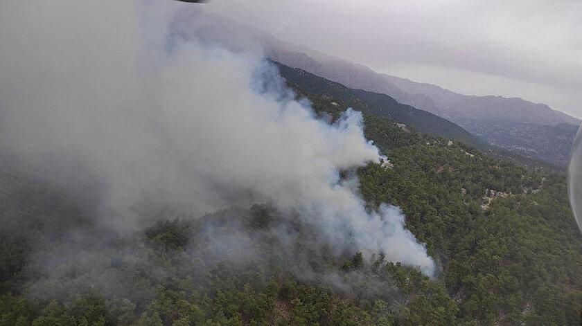 Manavgat'ta aynı bölgede ikinci yangın: Alevler kontrol altına alındı