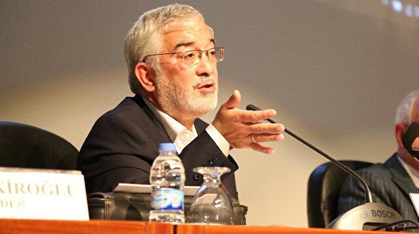 ÖNDER Onursal Başkanı İbrahim Solmazdan Cübbeli Ahmete tepki
