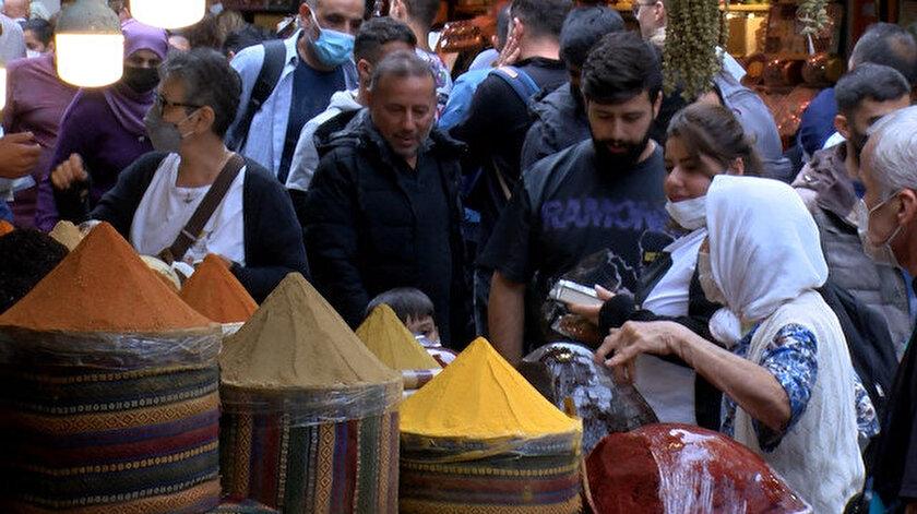 İstanbulda soğuk algınlığı şikayeti artınca vatandaş aktarlara akın etti