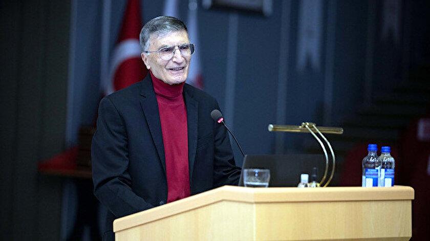 Nobel ödüllü Türk bilim insanı Aziz Sancardan öğrencilere: İnatçı ve istekli olacaksın