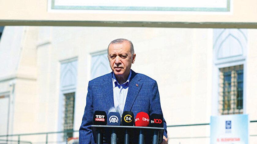 Cumhurbaşkanı Erdoğandan Kovid-19 mesajı: Tedbirlerden taviz veremeyiz