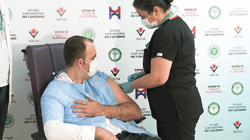 Yerli VLP aşısında Faz-3 çalışması başlıyor: Mutasyona 1 haftada hazır olacak