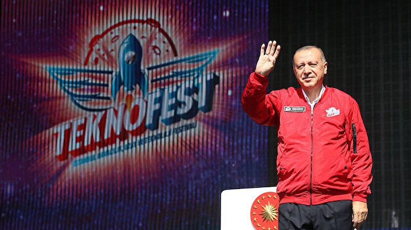 Cumhurbaşkanı Erdoğan TEKNOFESTte duyurdu: Can Azerbaycandan başlayarak dost ve müttefik ülkelerde de düzenleyeceğiz