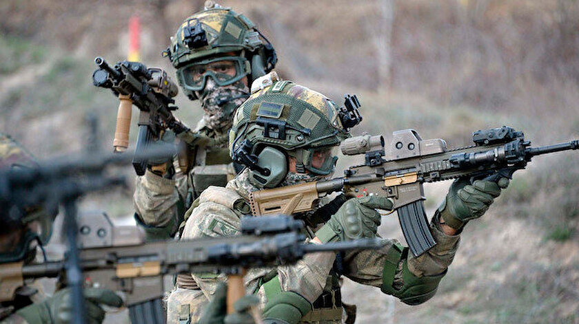 Zeytin Dalı bölgesinde saldırı hazırlığındaki 6 terörist etkisiz