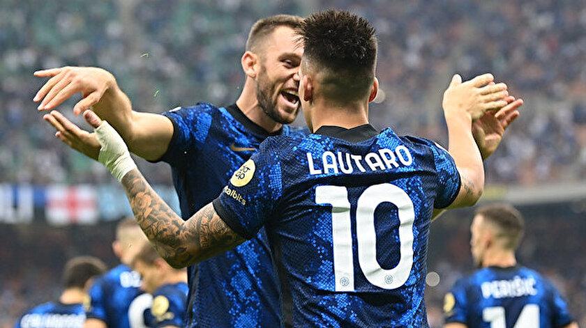 Lautaro Martinezin attığı golü izle