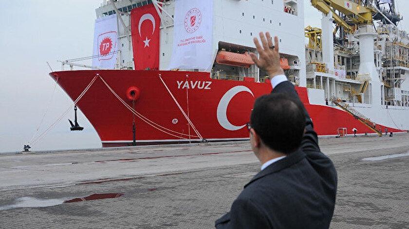 Fatih ve Kanuni ile bir araya gelecek: Yavuz sondaj gemisi Karadenizdeki görevine hazırlanıyor