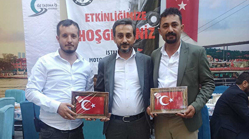 Öz Taşıma İş Sendikası öncülüğünde motosikletli kuryelerin sorunları İstanbulda masaya yatırıldı