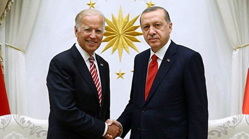 Cumhurbaşkanı Erdoğan ABD Başkanı Biden ile görüşecek