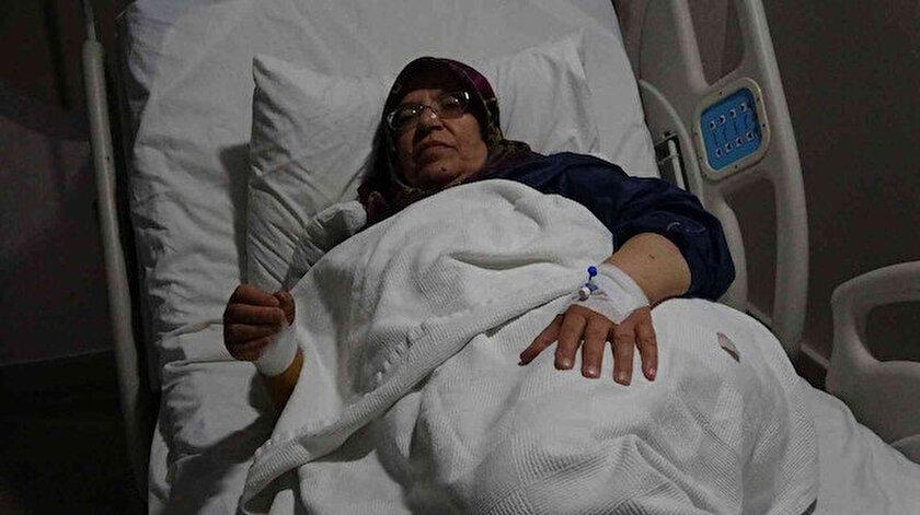 Van'da 62 yaşındaki kadının başparmağından anjiyo yapıldı