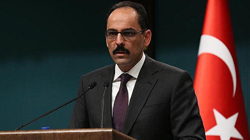 Cumhurbaşkanlığı Sözcüsü Kalından Türkiyenin F-16 teklifiyle ilgili açıklama: Alternatif olarak değerlendirilebilir