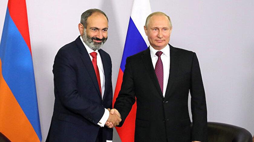 Paşinyan Karabağda çözüm için Putine koştu: Bütün konuları onunla ele alacağım