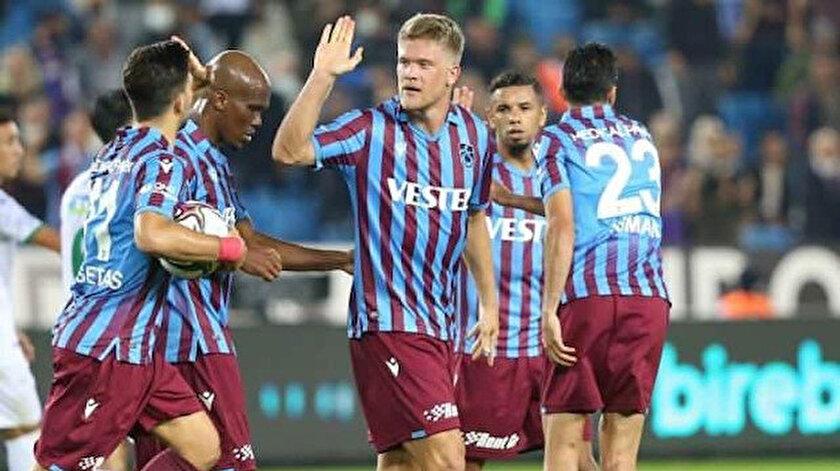 Trabzonsporun derbi kozu: Muhteşem üçlü
