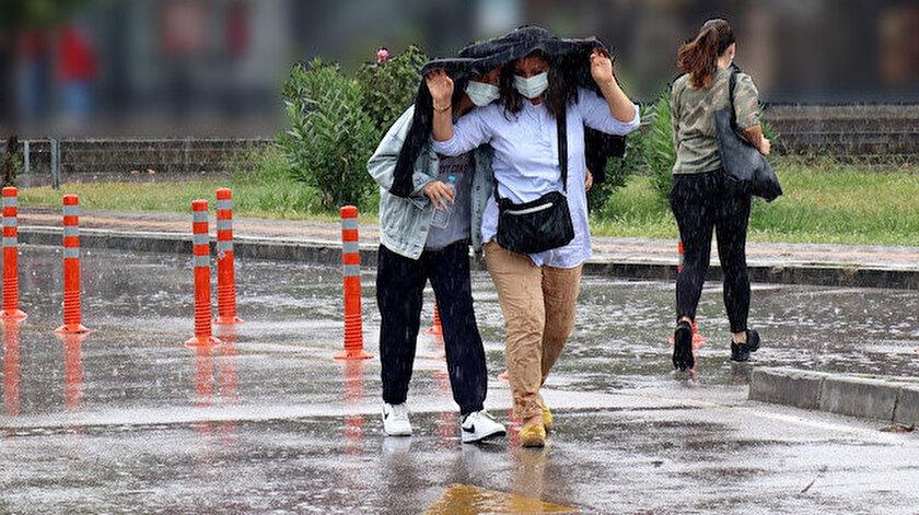 Meteorolojiden yağış uyarısı: İstanbul, Kastamonu, Karabük il il hava durumu
