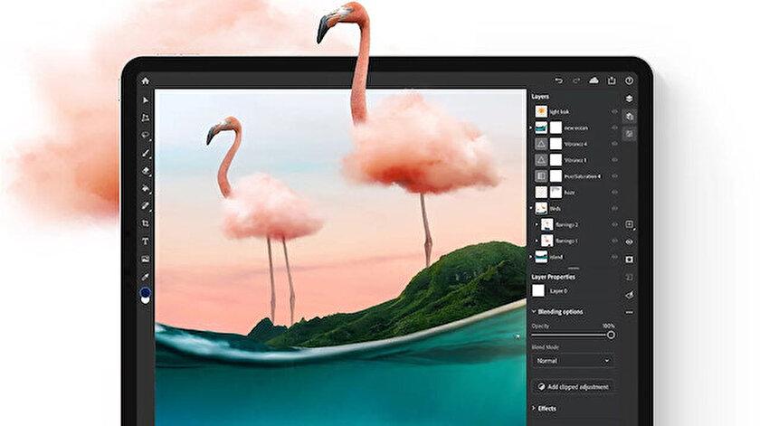 Adobe güncelledi: iPad için Photoshop artık ProRAW dosyaları destekliyor