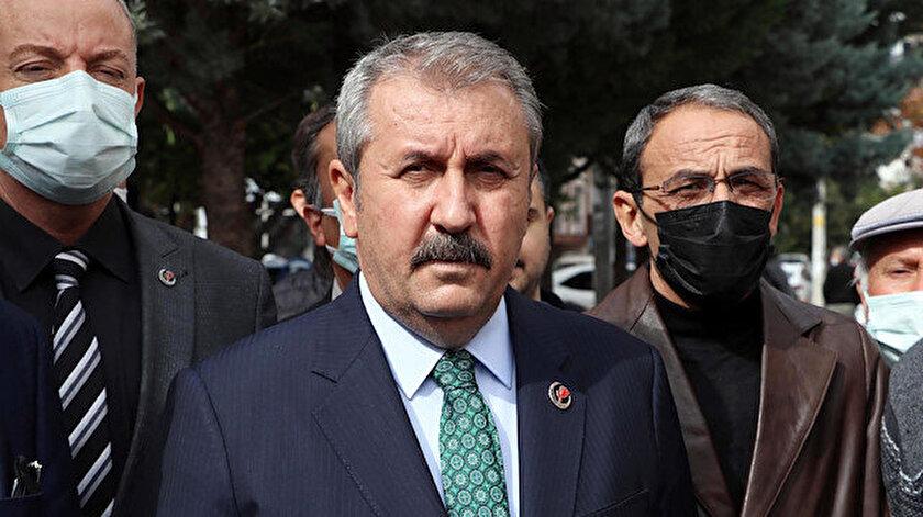 BBP Genel Başkanı Desticiden Kılıçdaroğluna: Siyasi cinayet iddiaları akıl almaz temelsiz ve mesnetsiz