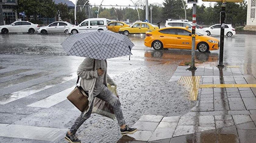 Meteorolojiden kuvvetli yağış uyarısı: İstanbul, Adana, Ankara il il hava durumu