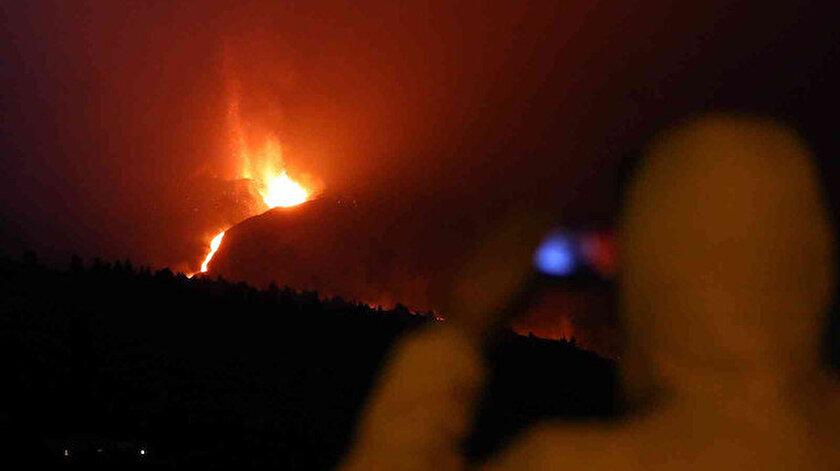 La Palma Adasında yanardağ tahliyesi: 800 kişi daha evini terk etti