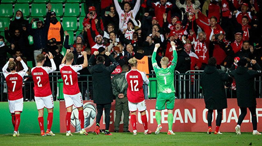 Danimarka, Dünya Kupasına katılmayı garantiledi