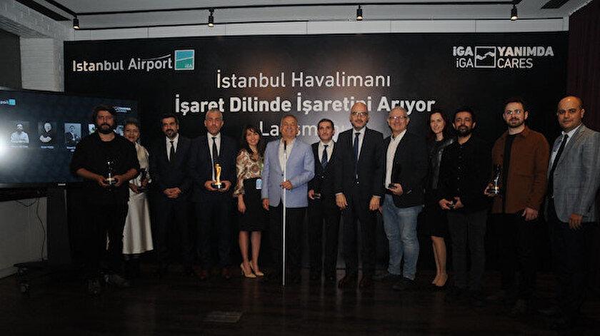İstanbul Havalimanı işaret dilini seçti