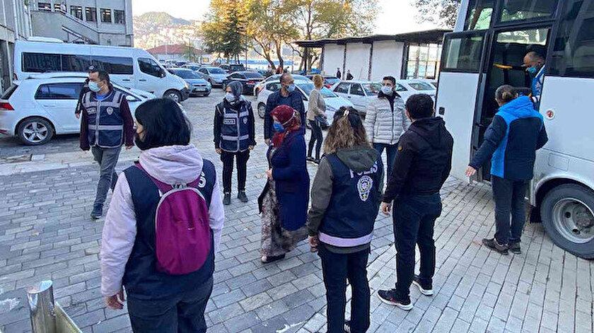 Çekirge Operasyonu'nda 24 şüpheli adliyede - Zonguldak haberleri