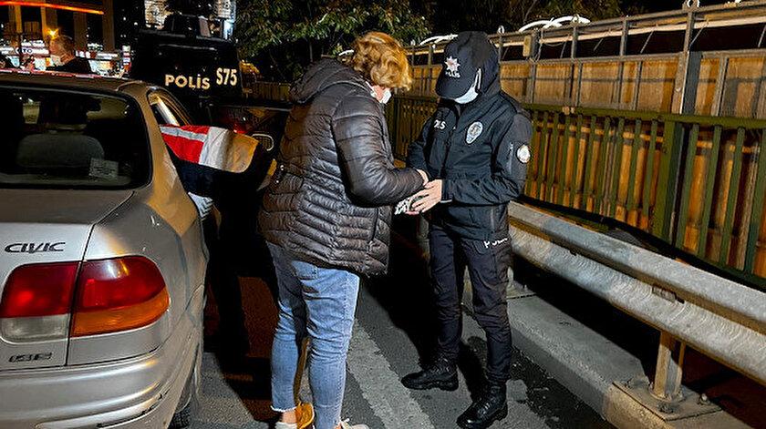 İstanbulda iki bin polisle huzur denetimi: 405 şüpheli yakalandı