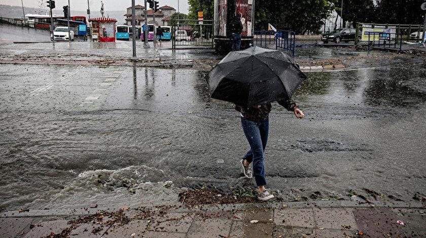 14 Ekim hava durumu raporunda yağış uyarısı: Çanakkale, Edirne il il hava durumu