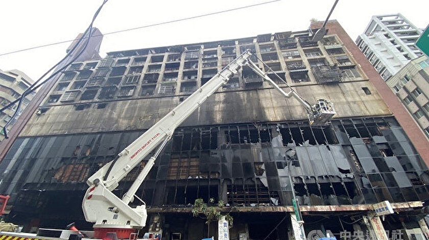 Tayvan'daki yangın faciasında ölü sayısı 46ya yükseldi