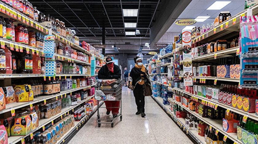 ABDde gıda enflasyonu son 10 yılın zirvesinde