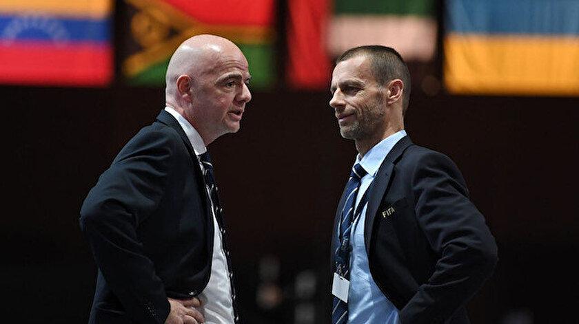 FIFA ve UEFA karşı karşıya geldi: Dünya Kupasının kaderi belli değil