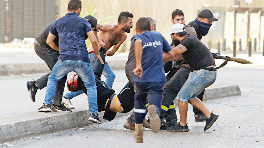 Beyrut'ta kanlı çatışma: 6 ölü 30 yaralı