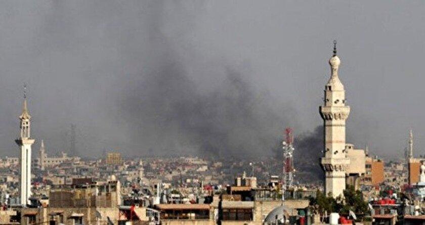 Şam havaalanı vuruldu uçuşlar iptal