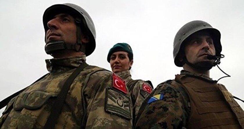 Bosna Hersek ordusunu Mehmetçik eğitiyor