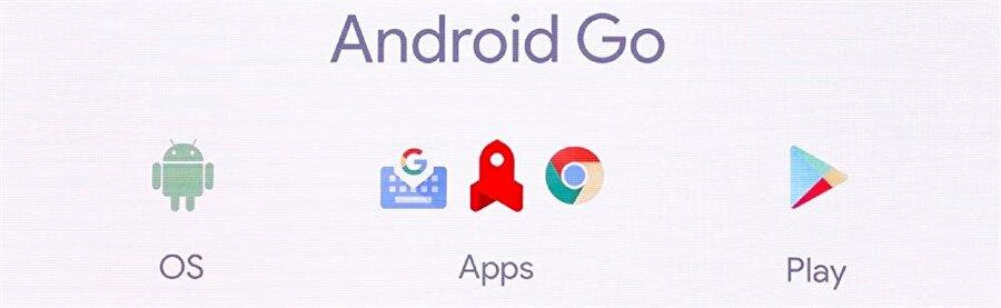 Google'ın Android'de sunduğu birçok farklı uygulama, varsayılan olarak Android Go'da da yüklü olarak gelecek. Fotoğraf: Engadget.