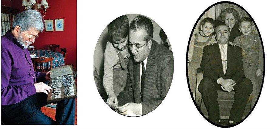 Oktay ailesinin Ankara günlerine ait. Emre Oktay 1958'de babasıyla (ortada), Nimet-Faruk Oktay çifti oğulları Ömer ve Emre ile (sağda)...