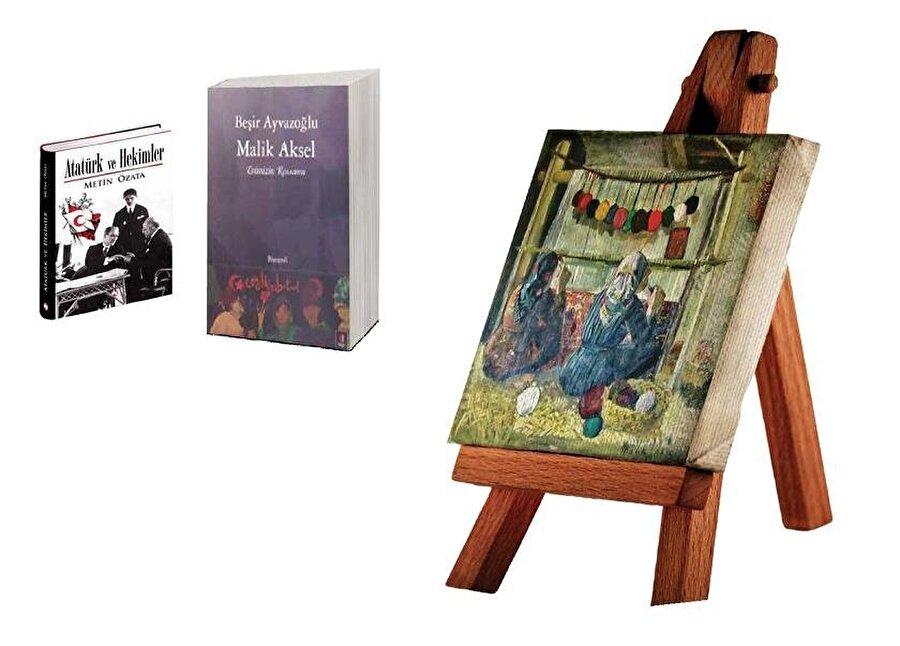 Malik Aksel, Evimizin Ressamı, Kapı Yayınları, İstanbul, 2011-Metin Özata Atatürk ve Hekimler (İst., 2015)