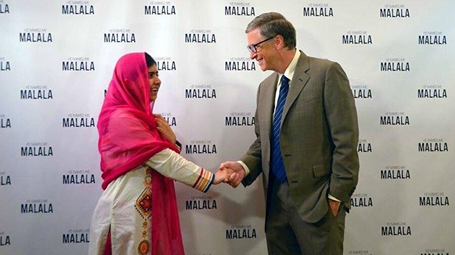 Bu karşılamadan önce 2015 yılında Gates ve Yousefzai New York'ta bir araya gelmişti. Yousefzai'nin hayatını anlatan He Named Me Malala'nın tanıtım toplantısında biraraya gelmişlerdi.