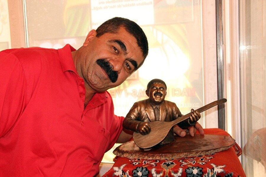 Müzede, Şentürk İyidoğan'ın da büstü bulunuyor. (İHA)