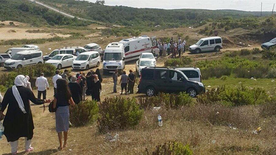 3 arkadaşıyla denize giren ve akıntıya kapılarak kaybolan 17 yaşındaki Ahmet Aslanbay'ın cesedi bulundu. (Muhammed Gencebay Gür / AA)