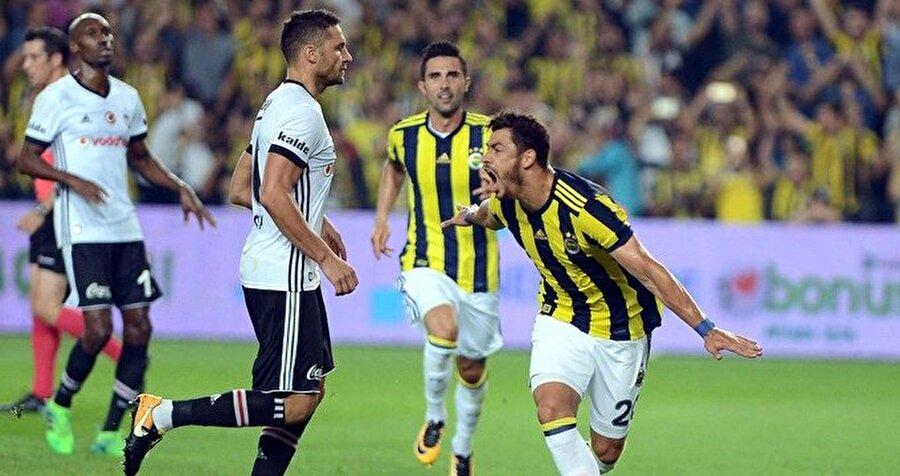 Derbide Fenerbahçe ilk golünü penaltıdan Giuliano ile buldu.
