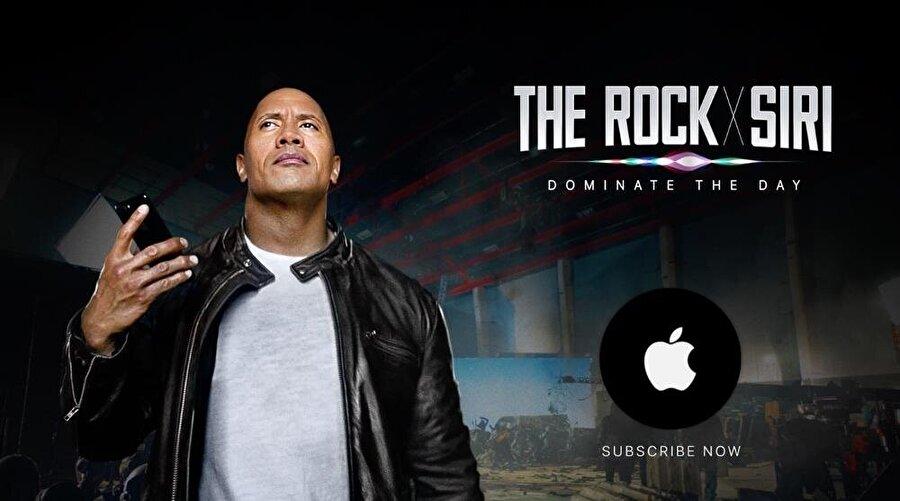 Apple fanatiklerinin beğenisini kazanan Siri reklamlarından biri...