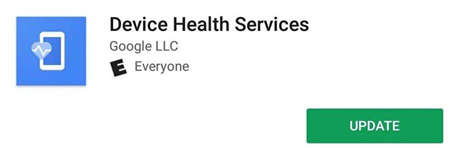 Device Health Services uygulaması sayesinde basit adımlarla batarya tasarrufu yapılabiliyor.