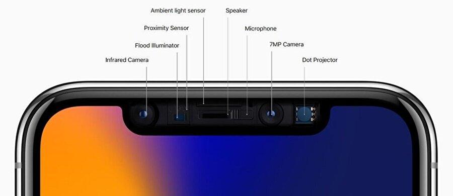 True Depth teknolojisi sayesinde biyometrik tarayıcıda bir üst çıtaya geçiliyor ve güvenlik de önemli oranda artıyor.