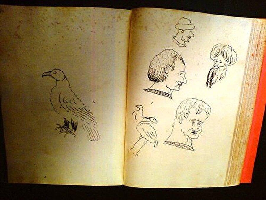 Fatih Sultan Mehmed'in çizim yetenekleri de büyük ilgi çekiyor.