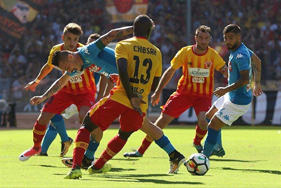 4 gol yiyen Benevento kalesinde ise 29 gol gördü.
