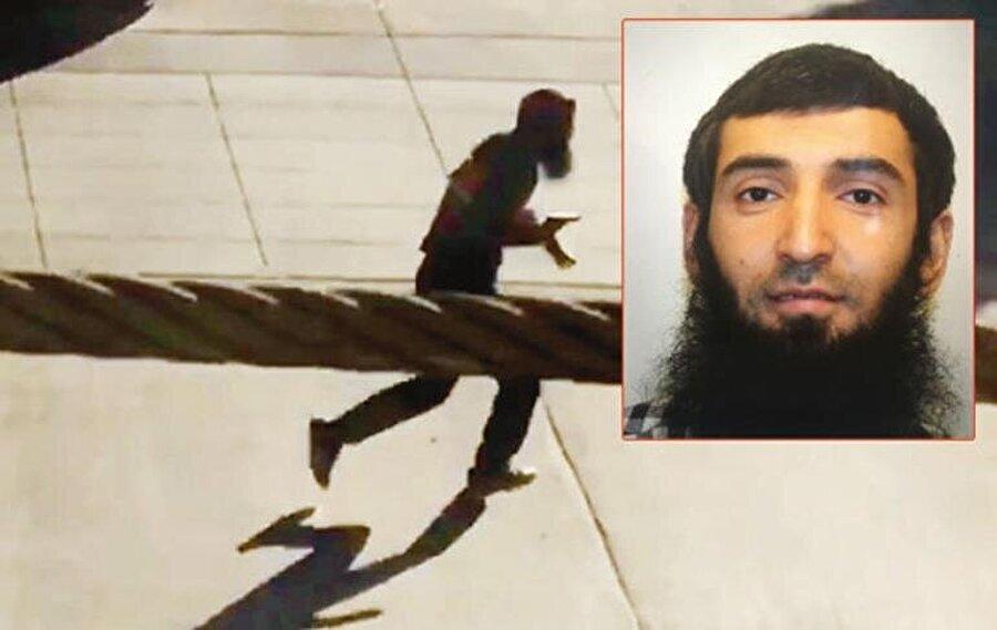 Saldırganın kaçışı cep telefonu kamerasına yansıdı.Saldırgan bu görüntüden kısa bir süre sonra sol bacağından vurularak gözaltına alındı. Saldırganın 29 yaşındaki Özbek asıllı Sayfullo Saipov olduğu öğrenildi.