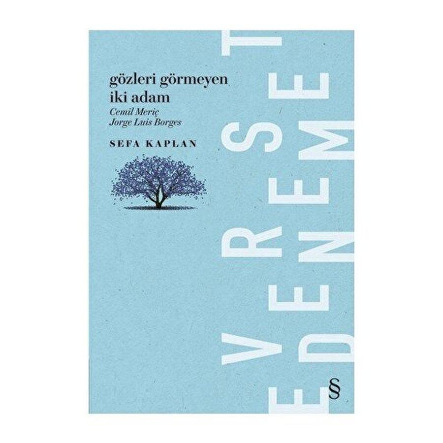Gözleri görmeyen iki adam: Cemil Meriç-Jorge Luis Borges kitap kapağı